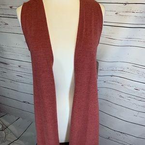 Lularoe Joy vest size XS bnwt